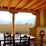 Sierra Remodeling southwest outdoor patio with beautiful kiva fireplace!