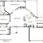 Sierra Remodeling Custom Home Model 2180 floor plan