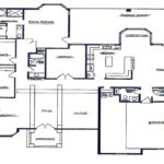 Sierra Remodeling Custom Home Model 2654 floor plan