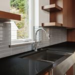 Silestone quartz iconic-black countertop